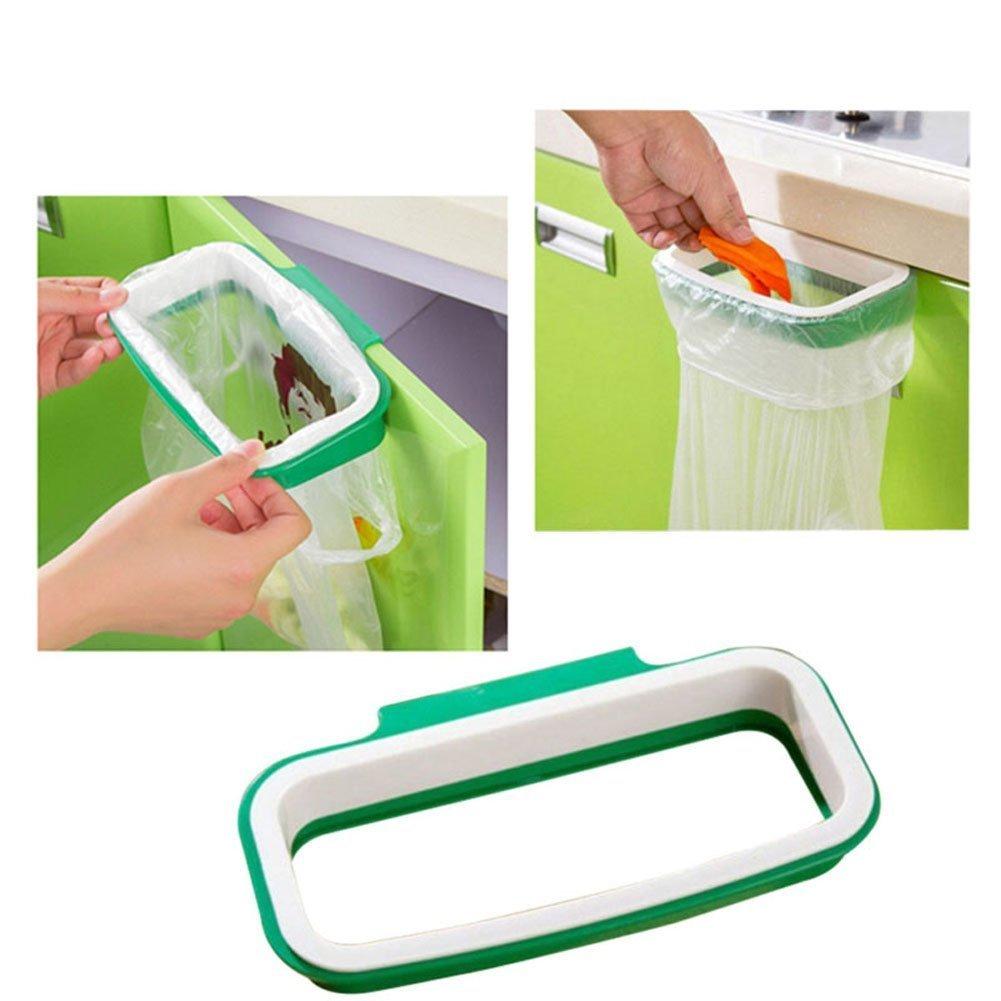 EQLEF/® Armadio Cabinet portellone Holder sacchetto di immondizia Trash Spazzatura rack di stoccaggio Hanging