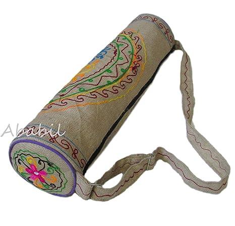 Amazon.com : ABABILART Large Yoga Mat Bag by Ababilart India ...