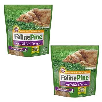 Amazon.com: Feline - Arenero para gatos (madera de pino ...