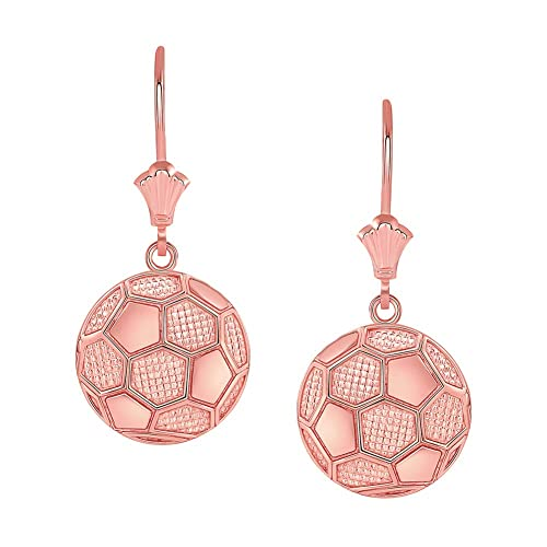 Pendientes de balón de fútbol de moda: Amazon.es: Joyería