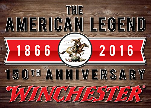 Winchester 150th Anniversary Rectangle Tin Sign, 17
