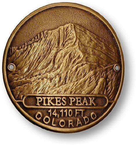 Pikes Peak Hiking Stick Medallion