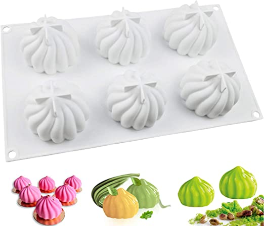 Large Half Ball Sphere Silicone Cake Mold Muffin Chocolate Baking Mould #HX