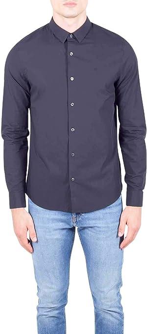 Calvin Klein Camisa de Hombre Jeans en Tejido Negro J30J312439-099: Amazon.es: Ropa y accesorios