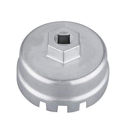 Andux Zone Llave de filtro de aceite para Toyota/Lexus LQQBS-02
