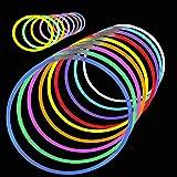 """Glow Sticks Party Pack: 8"""" Lumistick Bracelets w/ 22"""