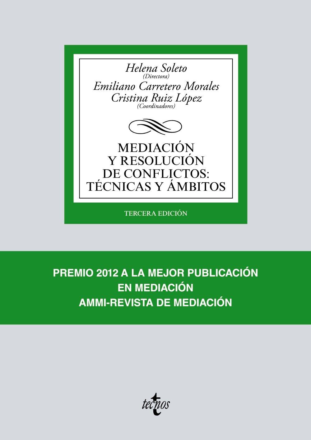 Mediación y resolución de conflictos: Técnicas y ámbitos Derecho ...