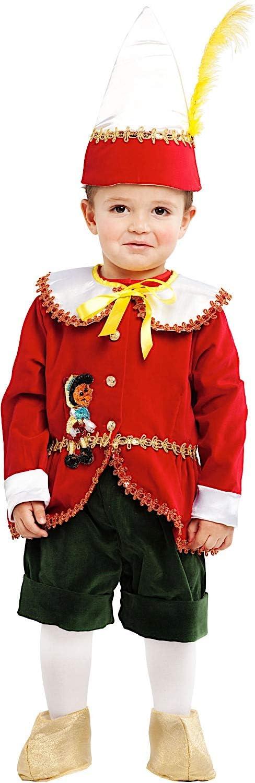 VENEZIANO Disfraz PEQUEO Marionetas PINOCHO Vestido Fiesta de ...