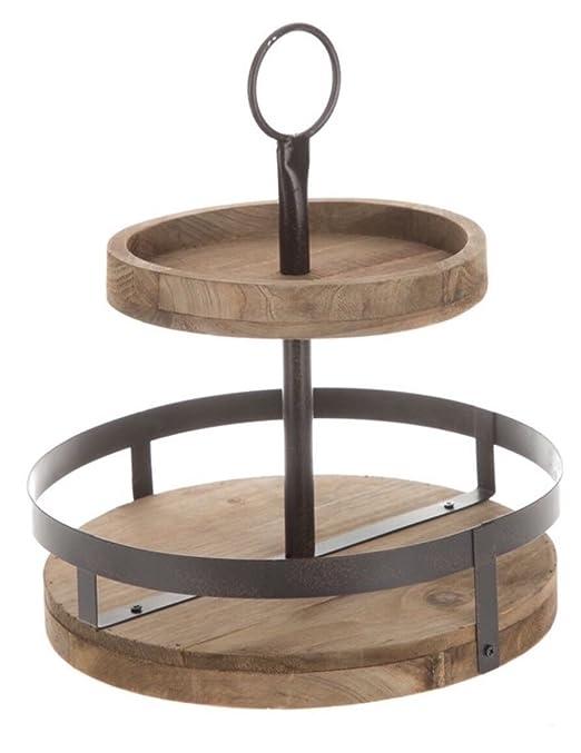 K&N41 - Soporte de mesa de madera rústica para decoración de ...