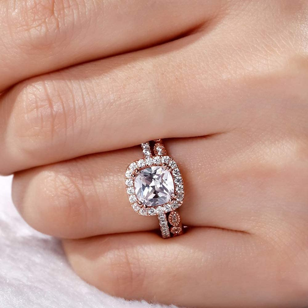 Greendou Jewelry 14k Rose...