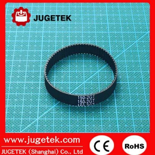 Number of Pcs: 1pc Fevas 150mm Length 75 Teeth 9mm Width Closed-Loop GT2 Timing Belt 150-2GT-9