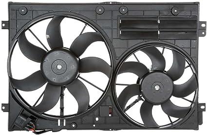 Prime elección de auto partes fa720807 Radiador de refrigeración de doble ventilador montaje: Amazon.es: Coche y moto