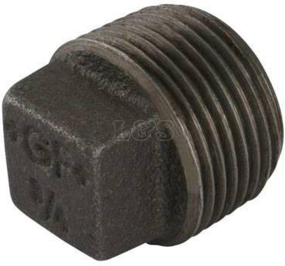 Square Headed Plug 2 BSP Malleable Iron