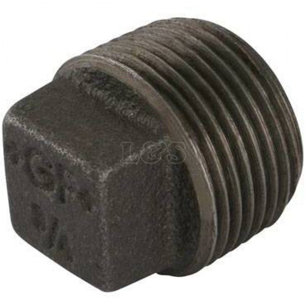 Square Headed Plug 1/8' BSP L&S Engineers