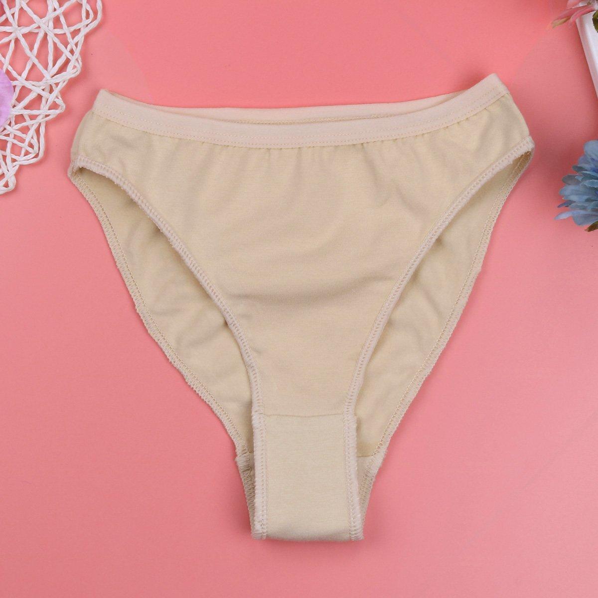 moily Girls High Cut Seamless Underwear Gymnastics Ballet Dance Underpants Briefs Shorts