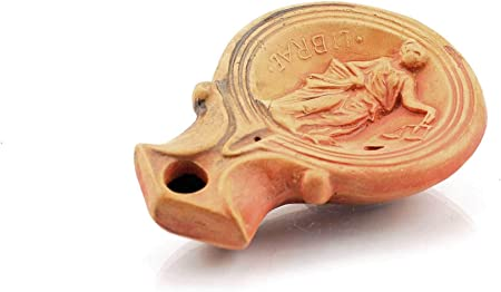 Forum Traiani Zodiac de Zodiaco lámpara de Aceite Báscula con mechas, Aroma Reenactment Calidad de Sonido | Arch äolo Estratégica Living History Museum Réplica: Amazon.es: Hogar