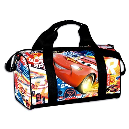 Amazon.com : Bolsa Deporte Cars Disney Shoot : Office Products