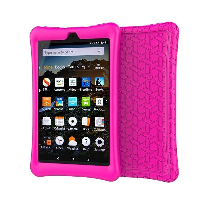 Amazon.com: Creazy - Carcasa protectora de silicona para ...