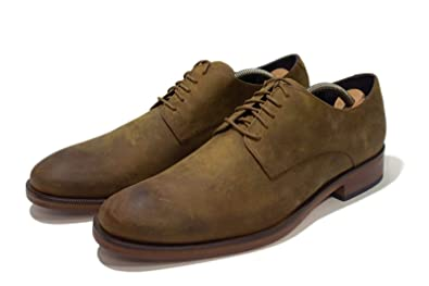 dependable performance limited price new release ASHOEHUB Cole HAAN Benton Plain Green Derby: Amazon.in ...