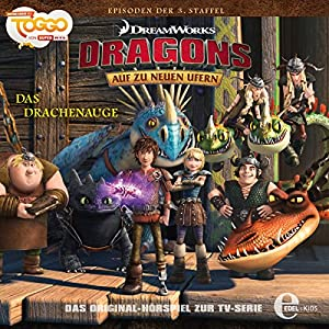 Das Drachenauge (Dragons - auf zu neuen Ufern 21) Hörspiel