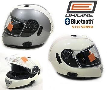 Casco de Moto Con Bluetooth Origine Vento V170 Integral Cascos Bluetooth con visera Interior ECE 20