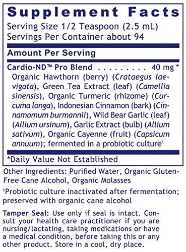 Cardio-ND by Premier Research Labs (3 Bottles / 24 Fl Oz) Quantum Organic Hawthorne