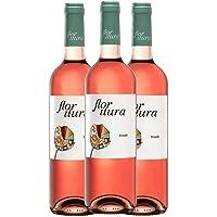 Nueva añada Flor Itura, vino rosado x3, Vino