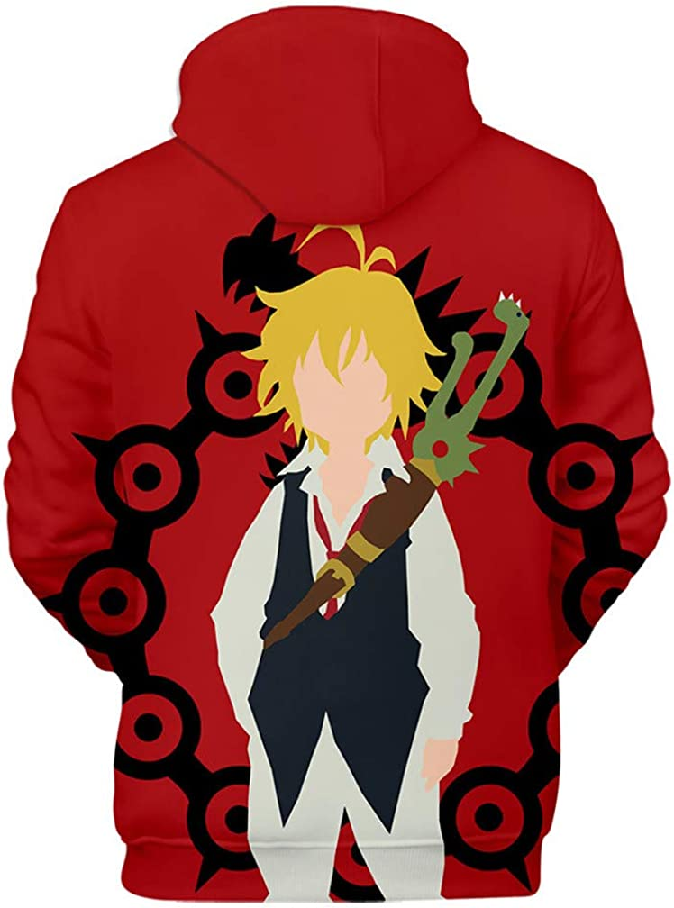 Amazon.com: YOYOSHome Anime The Siete Deadly Sins Cosplay ...