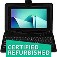 (Renewed) IKALL N9 Tablet (7-inch,1 GB, 8 GB, Wi-Fi + 3G), Black with Keyboard