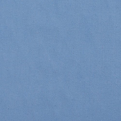 A519 Baby Light Blue Solid Woven Cotton Preshrunk Canvas Duck Upholstery Fabric By The Yard ()