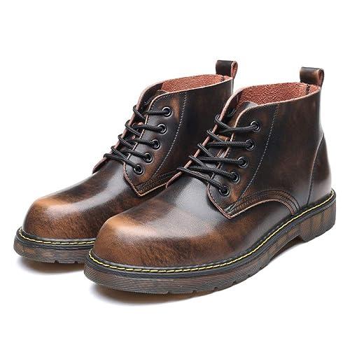 Chelsea Botas Hombre Cuero Formal Desierto Brogue Clásico Botines Primavera Martin Botas Herramientas: Amazon.es: Zapatos y complementos