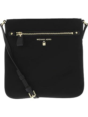 80e9144b6c MICHAEL Michael Kors Women's Kelsey Bag, Black, One Size: Handbags:  Amazon.com