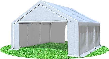 5x8 m Partyzelt Modular Pro PE 240 gm² Weiß inkl