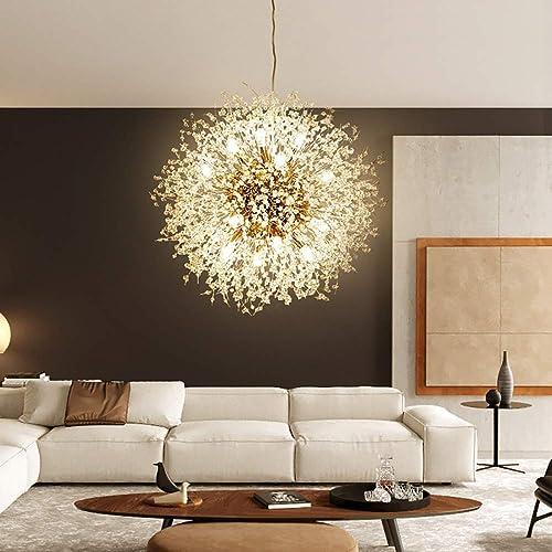 Qamra Modern Crystal Gold Chandeliers