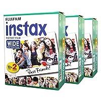 Fuji Fujifilm Instax Wide 60 for Instax Wide 210 200 100 300 Instant Photo Film Camera