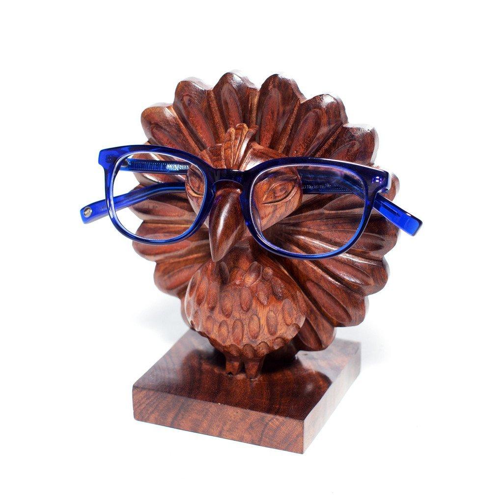 fd5ea956fd54 Amazon.com  Matr Boomie Peacock Eyeglass Holder  Home   Kitchen