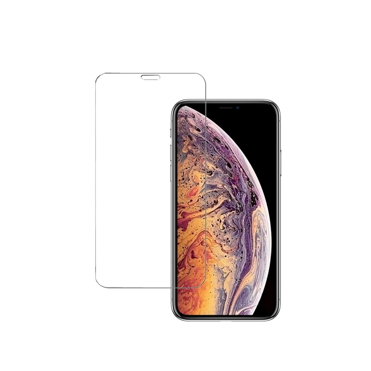 iPhone XR Screen Protector Tempered Glass [Edge to Edge Protection] for Apple iPhone XR (2018) AsianiCandy