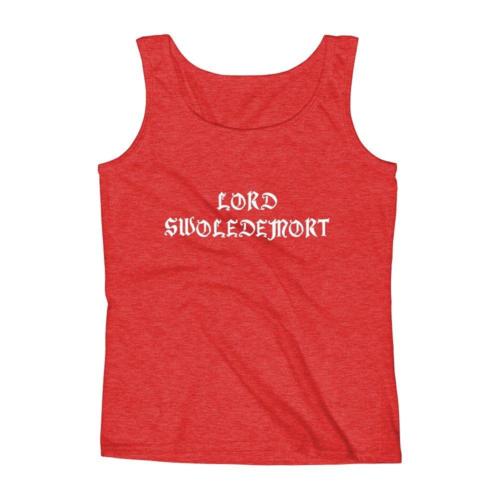 Mad Over Shirts Lord Swoledemort Unisex Premium Tank top