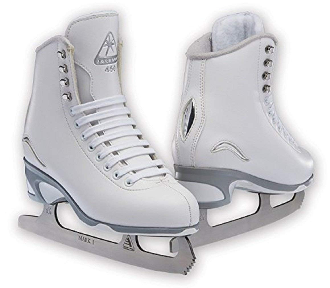 Jackson Ultima JS450 White Figure Ice Skates for Women/Adult 5 by Jackson Ultima