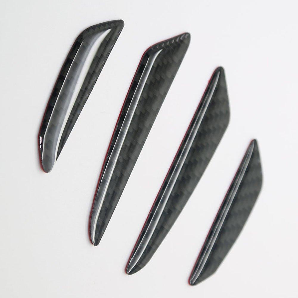 Generic Real Carbon Fiber Car Side Door Edge Protection Guard Trim Sticker Universal Fit For BMW 1-7 Series X1 X3 X4 X5 X6 Z4 M3 M5 M6 i3 i8