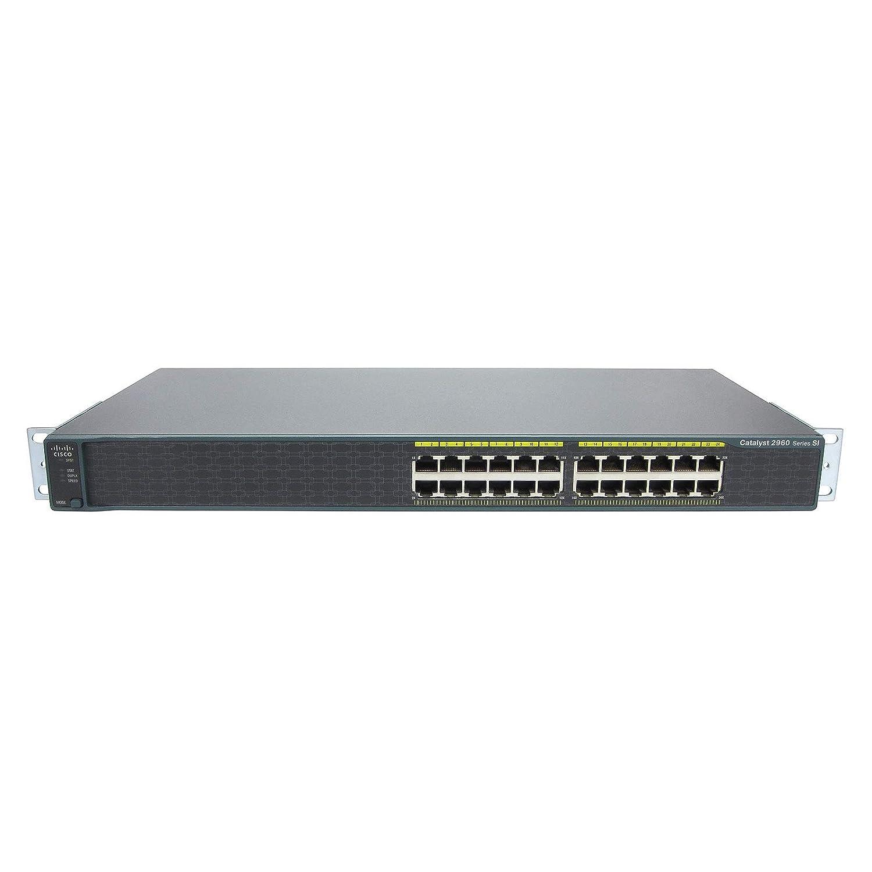 Amazon com: (Certified Refurbished) Cisco WS-C2960-24-S Catalyst