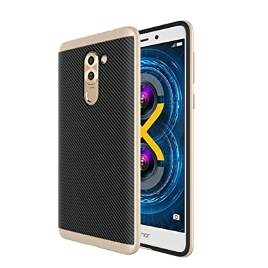 finest selection 6eac8 1380f Huawei Honor 6X Case, Huawei Honor 6X Cover, 95 street Lightweight 2in1  Hybrid Dual Layer Reinforced Bumper Case Protective Cover for Huawei Honor  6X ...