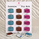 180 Animal Print Pillboxes