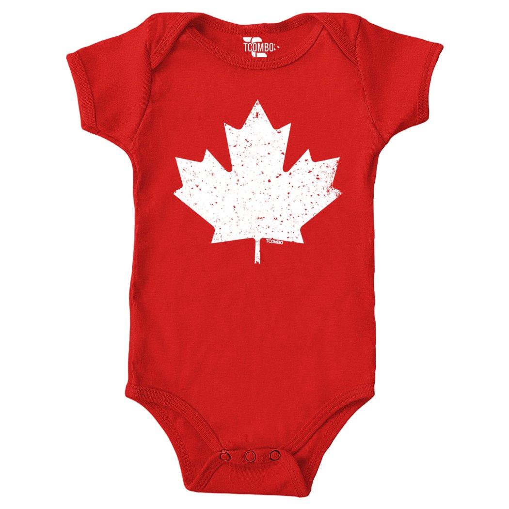 Tcombo Canada Maple Leaf - Vintage Style Retro Bodysuit