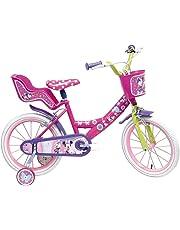 """Disney Minnie Mouse Vélo Mixte Enfant, Rose, 16"""""""