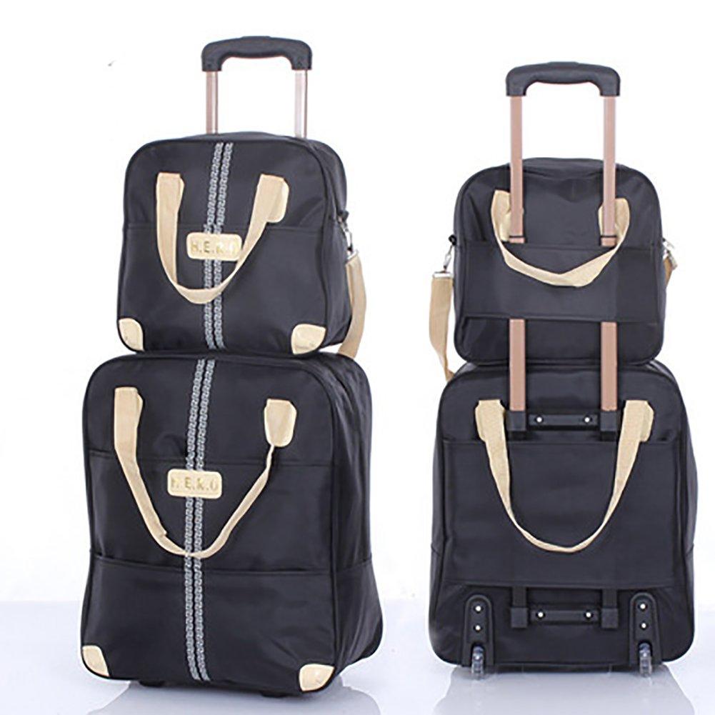 6a4570d20f2f Amazon.com | Meetbelify 2Pcs Luggage set Rolling Duffel Bag with ...