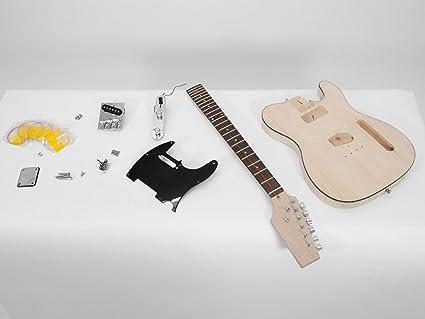 Set 2 x Juego de piezas de guitarra eléctrica GYVER CAST, color natural - 2