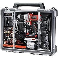 Black & Decker BDCDMT1206KITC Matrix 6 Cordless Tool Combo Kit with Case
