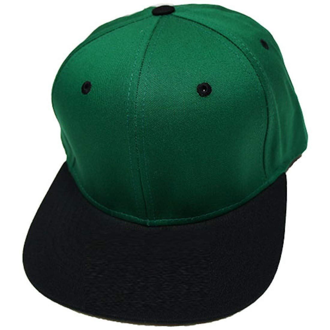 935ecfe0aaa Amazon.com  Altis Apparel Kid s Youth Flat Bill Snapback Hat - Hip Hop Baseball  Cap (Black Aqua)  Clothing