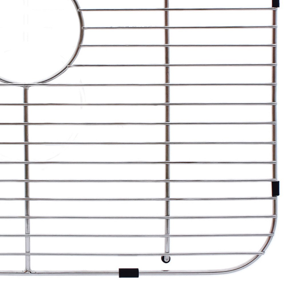 Franke FGS75 Stainless Steel Universal Single Bowl Sink Grid with Rear Drain, 13.5'' x 19.5'' by Franke (Image #4)